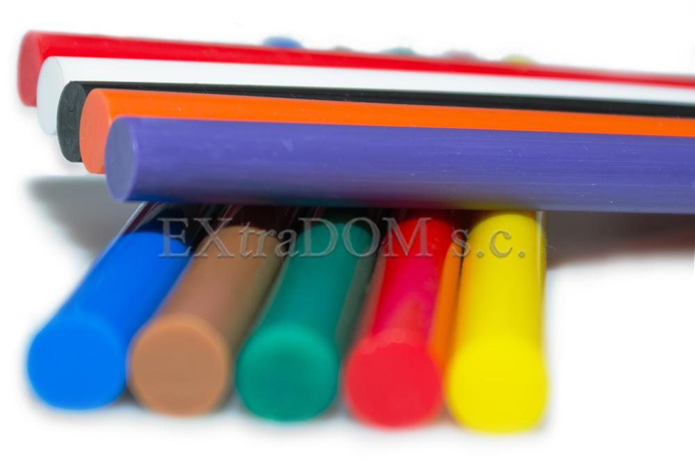 Klej kolorowy do pistoletów klejowych