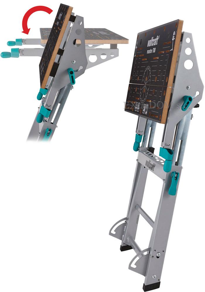 Wolfcraft stół zaciskowo maszynowy Master 700