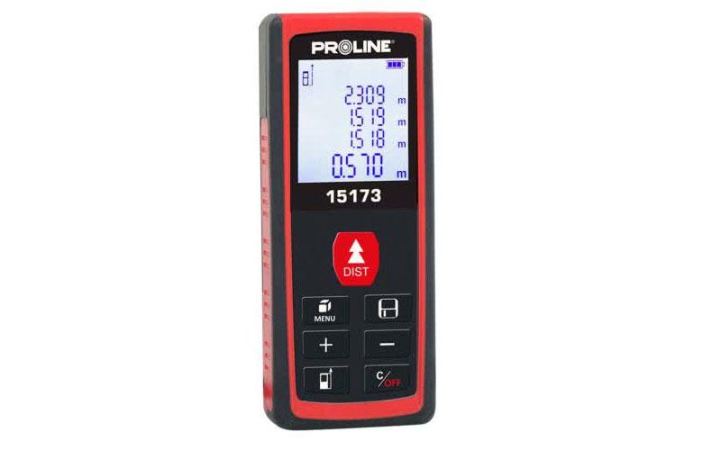 Proline dalmierz laserowy 20m dokładność 3mm / 20m 15173