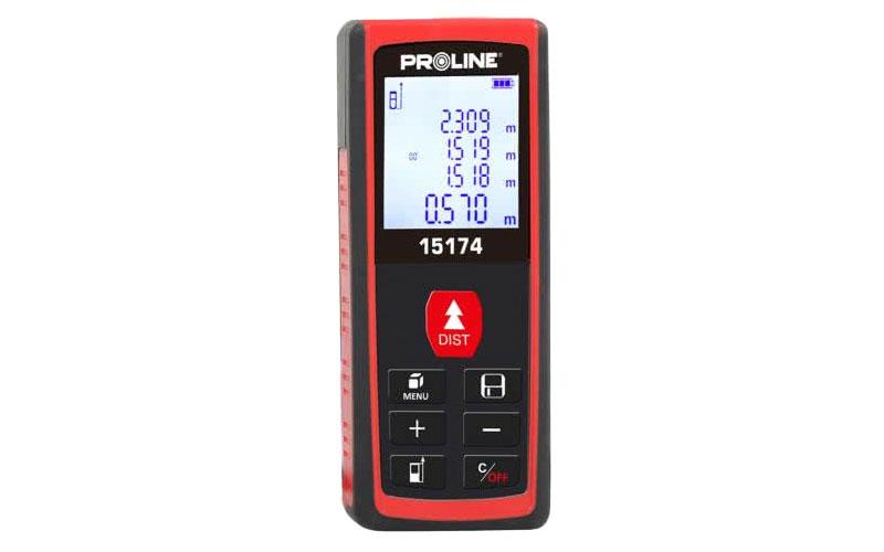 Proline dalmierz laserowy 40m dokładność 2mm / 40m 15174