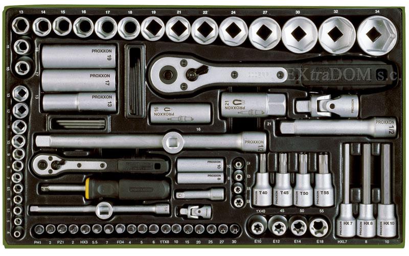 Zestaw narzędzi Proxxon 86 części PRK23640