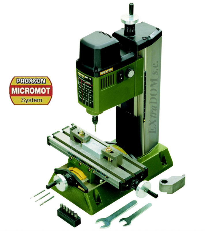 Precyzyjna frezarka Proxxon MF70 - 27110