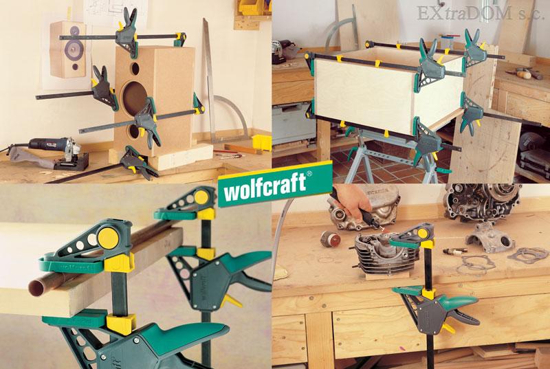 ścisk jednoręczny Wolfcraft