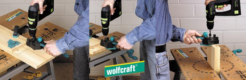 Przyrząd do kołkowania Wolfcraft