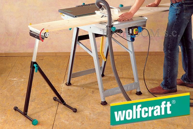 Podpórka przedłużenie stołu maszynowego Wolfcraft