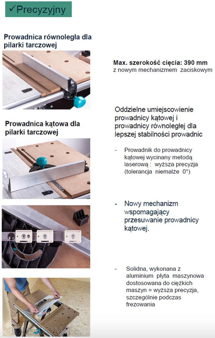 Wolfcraft - stół maszynowy Master Cut 1500